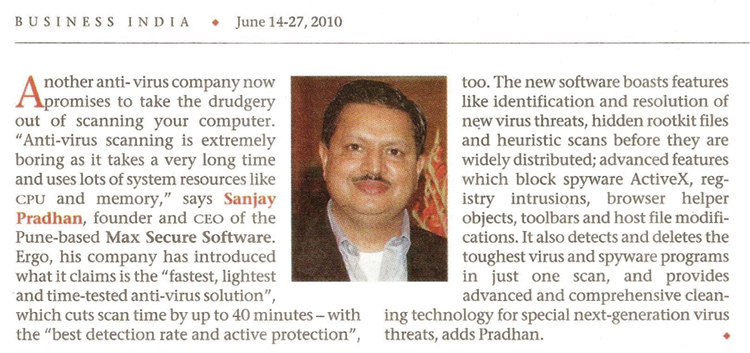 Business India Clipping